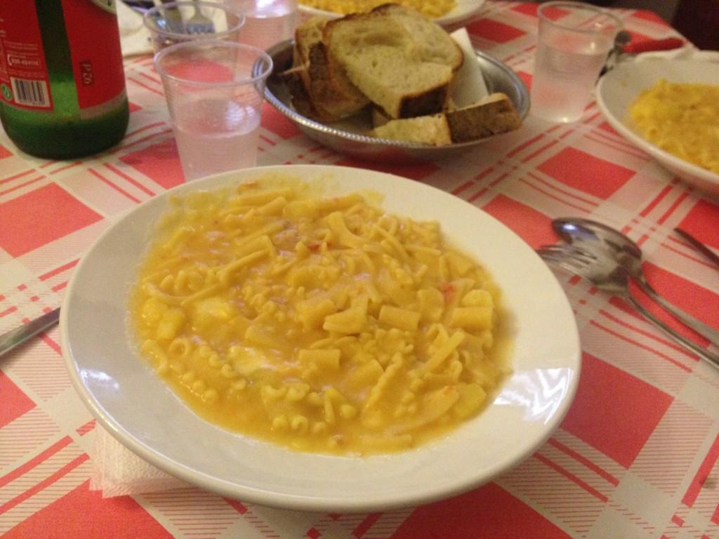 Pasta e patate Trattoria Nennella