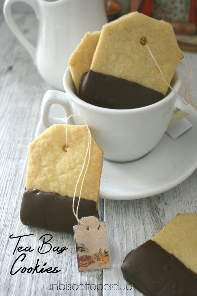 Tea Bag Cookie