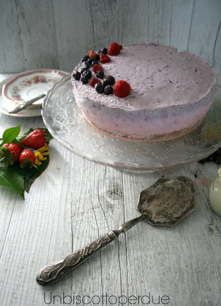 Cheesecake ai tre frutti