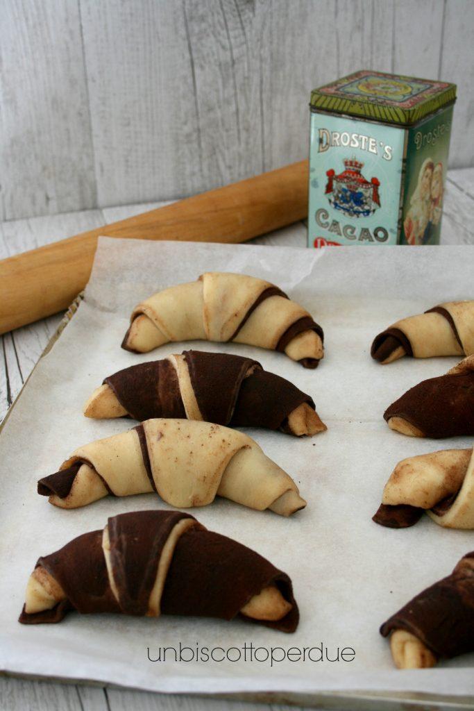 cornetti brioche vanilla&chocolate