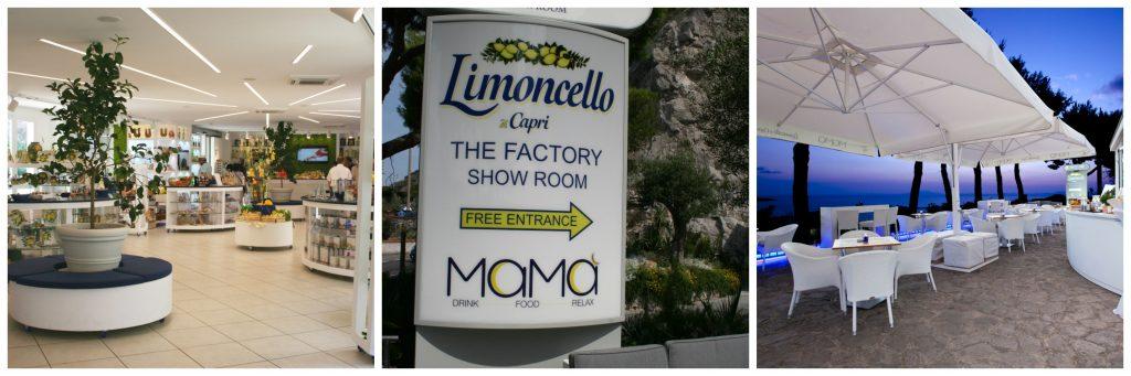 Show Room Limoncello Capri Meta